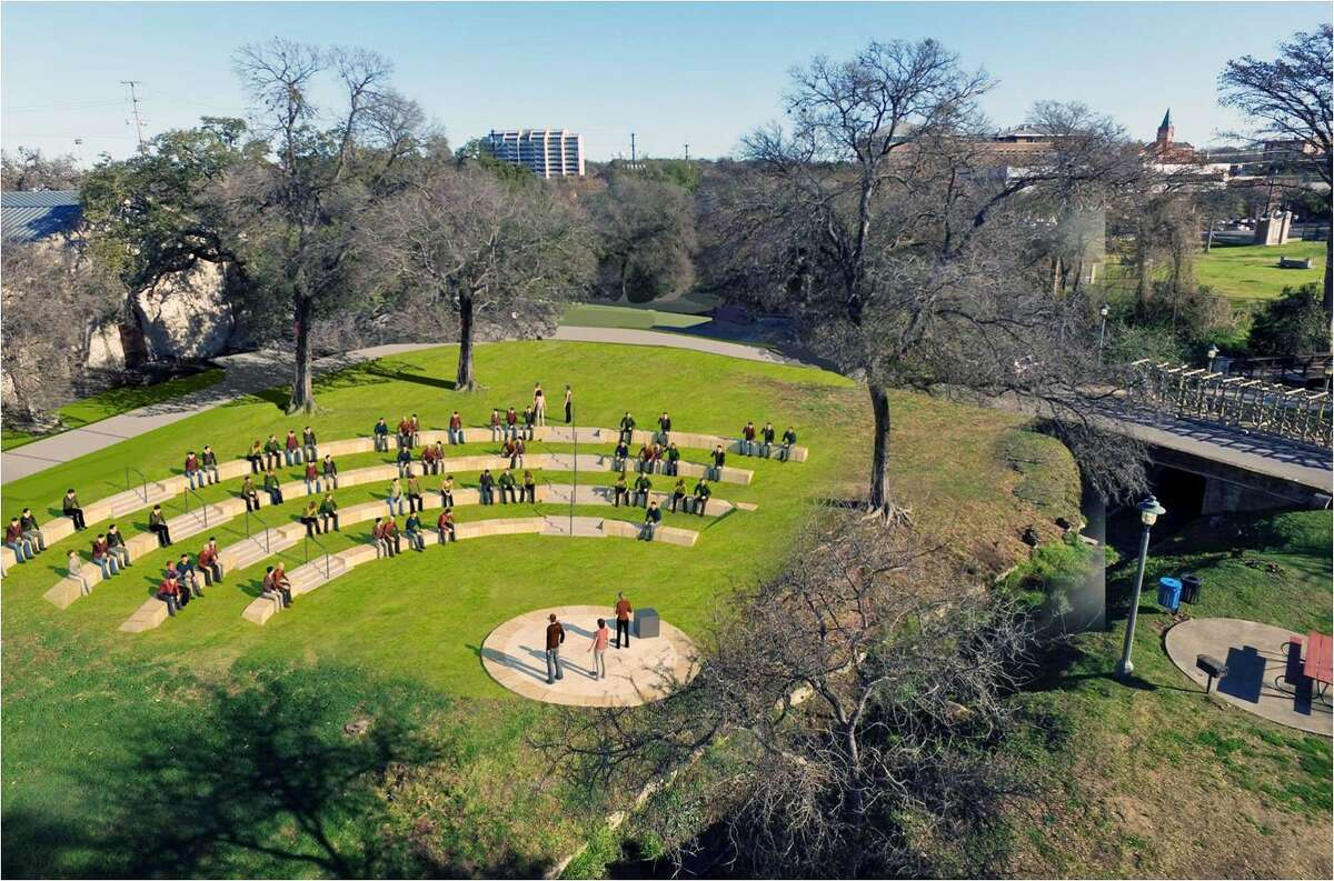 Scroll ahead to see future plans for Brackenridge Park: North End History and Walking Area