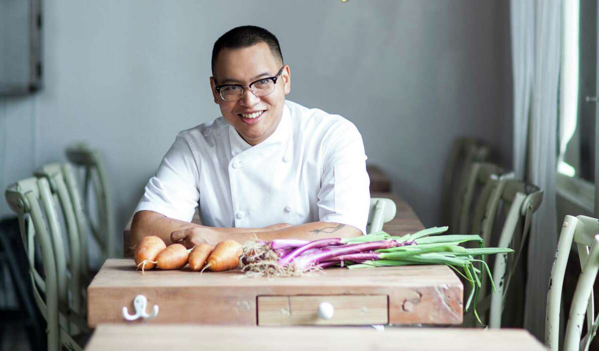 James Beard Award winning chef Justin Yu of Oxheart. Yu is partnering with American Express' Centurion Lounge at IAH.