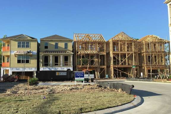 Homes for sale and under construction in the Spring Branch area.