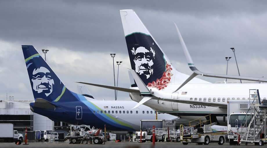 If you recognize the face on the Alaska Airlines planes you might not be alone -- but that doesn't mean you know who it's based off of.  Photo: Ted S. Warren, Associated Press