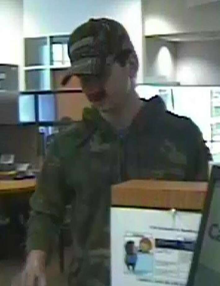 This man is wanted for allegedly robbing a bank on the North Side on April 20, 2016.