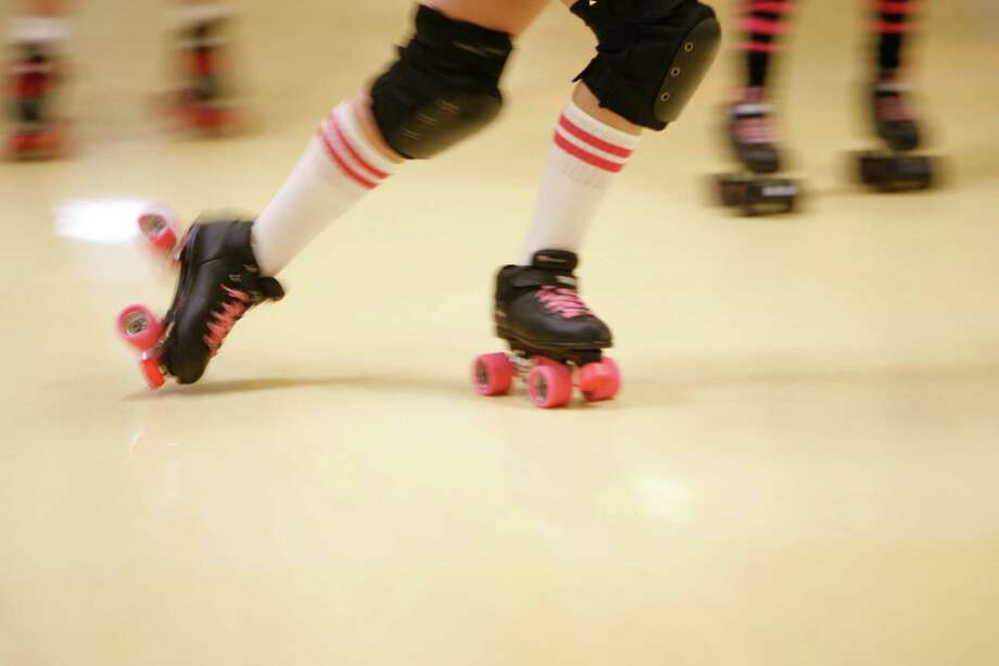 Get up close and personal to some roller derby action Saturday at Revention Music Center. Photo: Kevin Fujii, Staff Photographer / Houston Chronicle