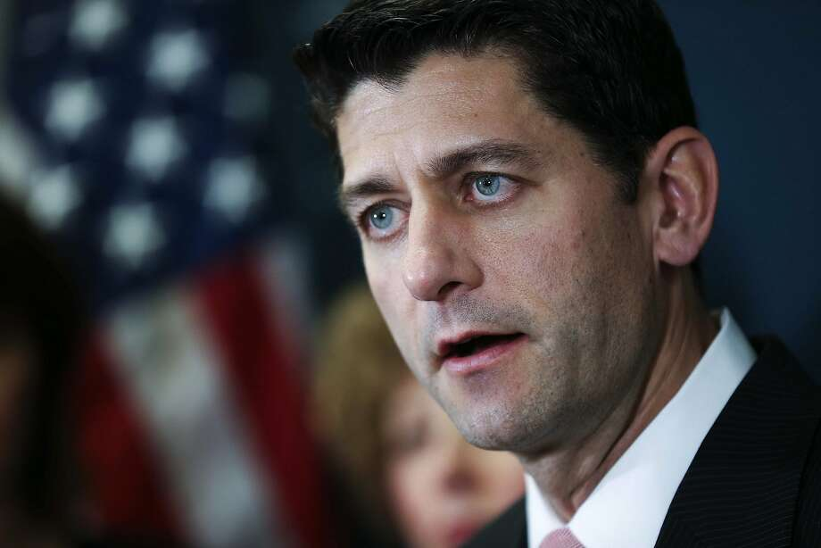 House Speaker Paul Ryan (R-Wis.)  answers questions during a news conference on Capitol Hill in Washington, May, 11, 2016. Ryan has become the Republicans' most prominent skeptic of Donald Trump, who he will meet with on Thursday, and has increasingly been at odds with a growing, if ambivalent number of Republican lawmakers supporting the presumptive nominee. (Doug Mills/The New York Times) Photo: DOUG MILLS, NYT