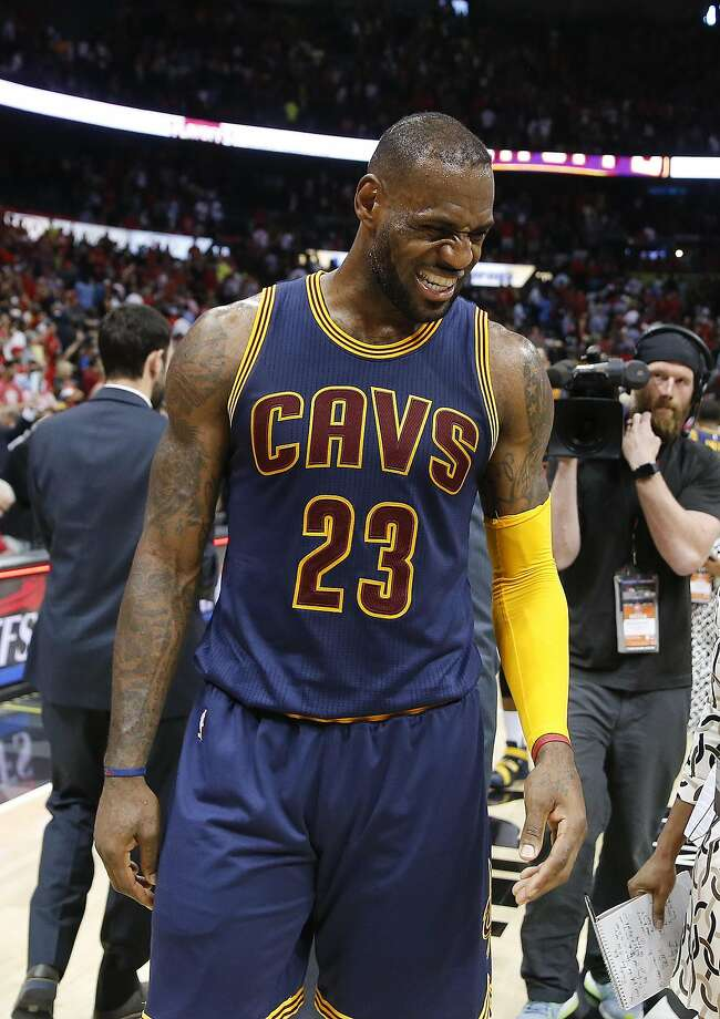 Cavaliers forward LeBron James pondered the meaning of 'valuable' on Wednesday. Photo: John Bazemore, Associated Press