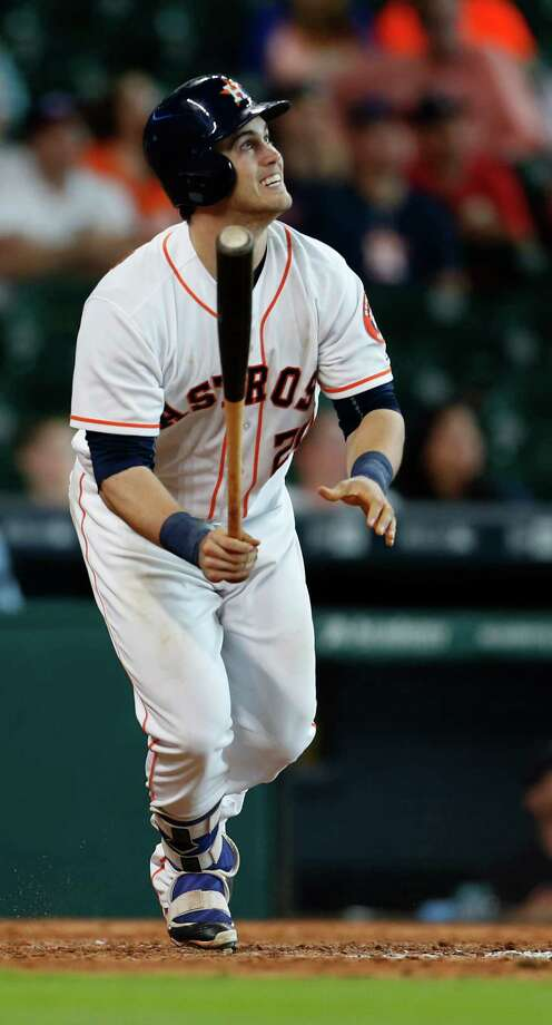 Preston Tucker will head to Corpus Christi for a Class AA rehab assignment starting Wednesday. Photo: Karen Warren, Houston Chronicle / © 2016 Houston Chronicle