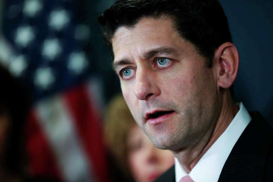 """House Speaker Paul Ryan says party unity is paramount. """"We have to be at full strength to win this election,"""" he said. Photo: Doug Mills / New York Times / NYTNS"""