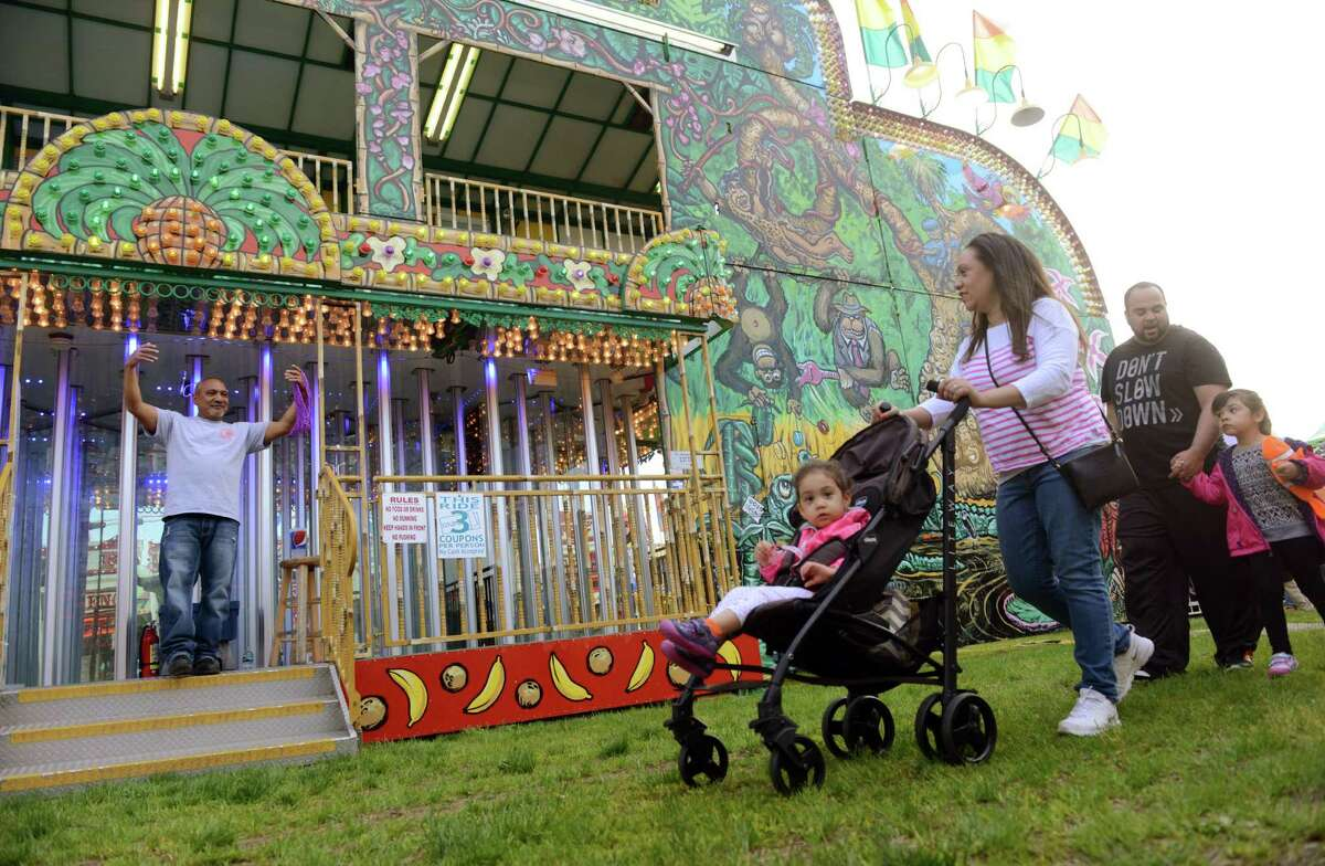 The opening night of the 100th annual Coleman Brothers Carnival in Shelton, Conn. on Wednesday May 11, 2016. The carnival, which benefits the Boys and Girls Club of the Lower Naugatuck Valley, will be open from 6-11 pm on weeknights, and from 1-11 pm on Saturdays and Sundays. The Boys & Girls Club will hold a ribbon cutting ceremony and will make a special presentation to Mayor Mark Lauretti at 2 pm on Saturday, May 14th. All are welcome to attend. Bring the family down and enjoy carnival rides, games of chance, and attractions for the young and the young at heart! For more information about the Boys & Girls Club of the Lower Naugatuck Valley, visit us at www.BGC-LNV.org.