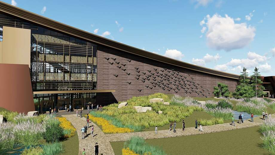 A $75 million educational facility called the Pacific Flyway Center would be open to the public and showcase the story of the Pacific Flyway and the value of wetlands, waterfowl and wildlife. Photo: Courtesy Dahlin Group / Special To The Chronicle