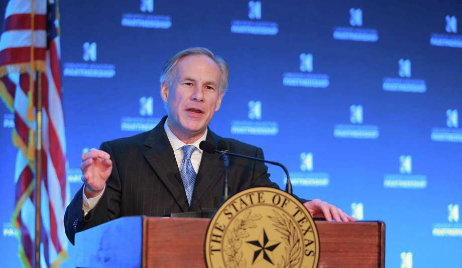 Gov. Greg Abbott will open the Texas Republican Convention in Dallas with a keynote speech Thursday, followed by talks  by Lt. Gov. Dan Patrick and Attorney General Ken Paxton. Photo: Richard J. Carson, Photographer / Ã¥Â2015 Richard J. Carson