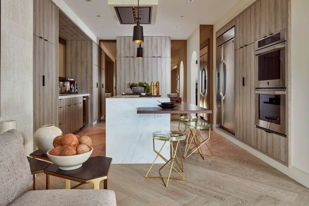 San Francisco Decorator  KitchenMartin Kobus Home designed the kitchen  and dining room  Photo  Russell Abraham Photography. Take a look inside this year s San Francisco Decorator Showcase