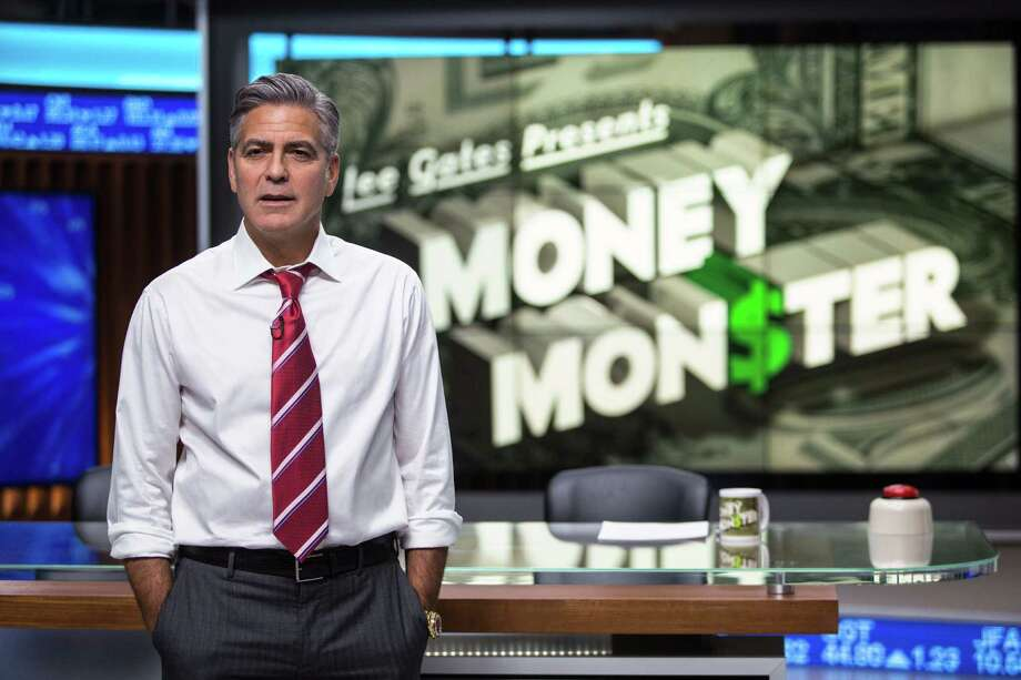 """In this image released by Sony Pictures, George Clooney appears in a scene from """"Money Monster."""" (Atsushi Nishijima/TriStar Pictures- Sony Pictures via AP) Photo: Atsushi Nishijima, HONS / Associated Press / TriStar Pictures/Sony"""