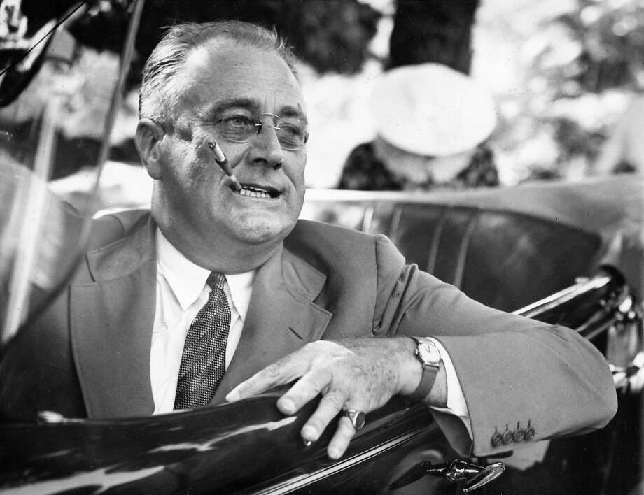 Franklin Delano Roosevelt, 32nd President of the United States Photo: Associated Press