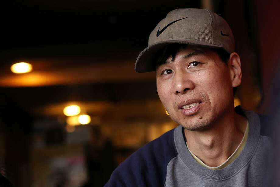 Bao Tai Lin is one of six former drivers for American Airporter who were ruled to have been employees. Photo: Michael Macor, The Chronicle