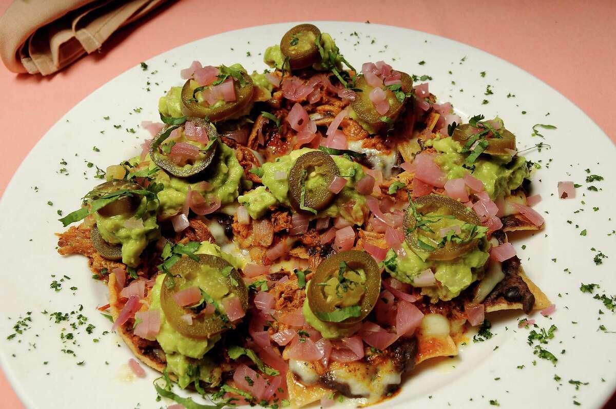 The Nachos Jorge at Pico's Mex-Mex restaurant