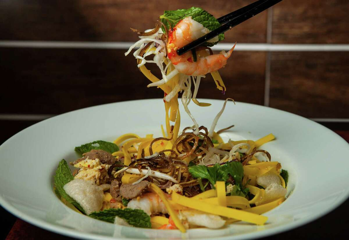 Mi Quang is one of the hit noodle dishes at Vietnamese restaurant Huynh.