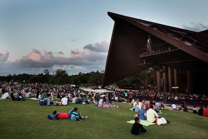 Miller Outdoor Theatre in Houston