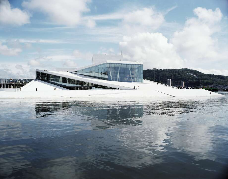 One of the buildings for which Craig Dykers' Snøhetta design firm is best known is the Oslo Opera House, which opened in the Norwegian capital in April 2008. Photo: � Jens Passoth