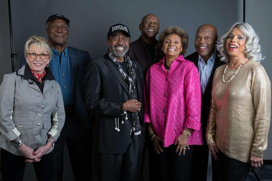"The original cast of Roots, Sandy Duncan, John Amos, Ben Vereen, Louis Gossett Jr., Leslie Uggams, Georg Stanford Brown and Lynne Moody pose for a portrait in promotion of the upcoming release of ""Roots: The Complete Original Series"" on Blu-ray on Wednesday, May 11, 2016, in New York. (Photo by Amy Sussman/Invision/AP) Photo: Amy Sussman, Associated Press"