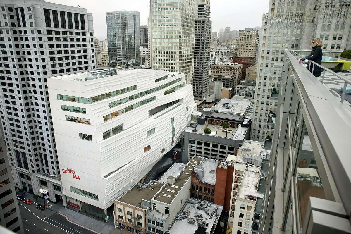 The new addition to the San Francisco Museum of Modern Art in San Francisco, Calif., on Monday, May 9, 2016.