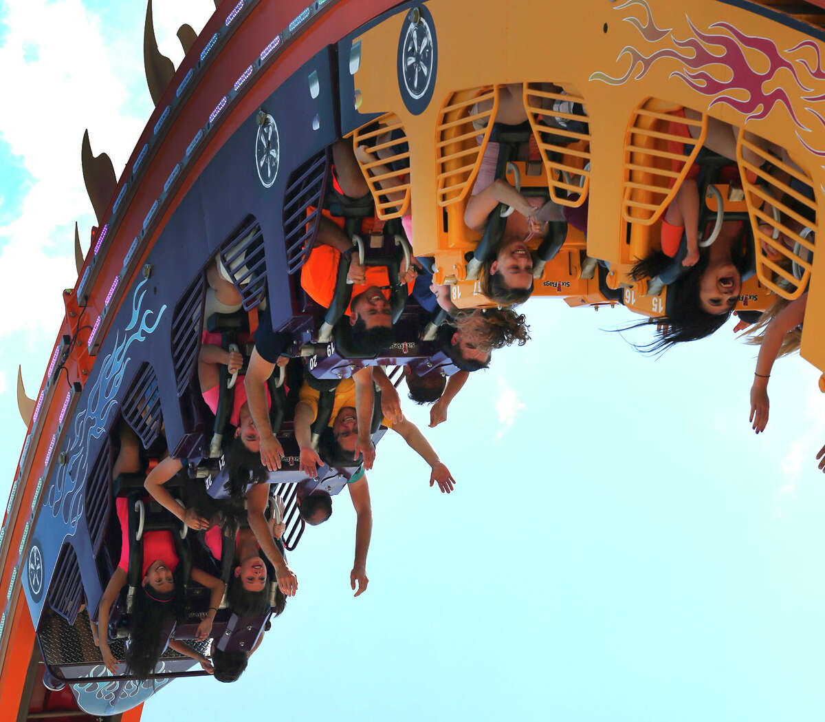Triple your thrills at Fiesta Texas. Six Flags Fiesta Texas unveiled three new rides dubbed the