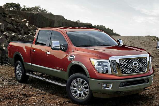 The 2016 Nissan Titan XD, which made its world debut at the North American International Auto Show in Detroit, is set to shake up the highly competitive full-size pickup segment when it goes on sale in the United States and Canada beginning in late 2015. It has a bold new design that stakes out a unique position in the segment between traditional heavy-duty and light-duty pickups.