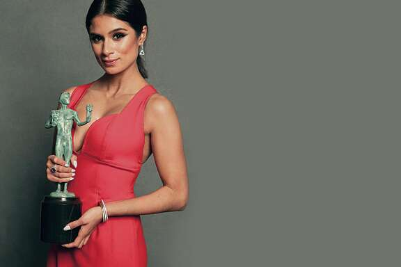 This image has been retouched) Actress Diane Guerrero poses for a portrait for Variety during the 2015 Screen Actors Guild Awards at The Shrine Auditorium on January 25, 2015 in Los Angeles, California.