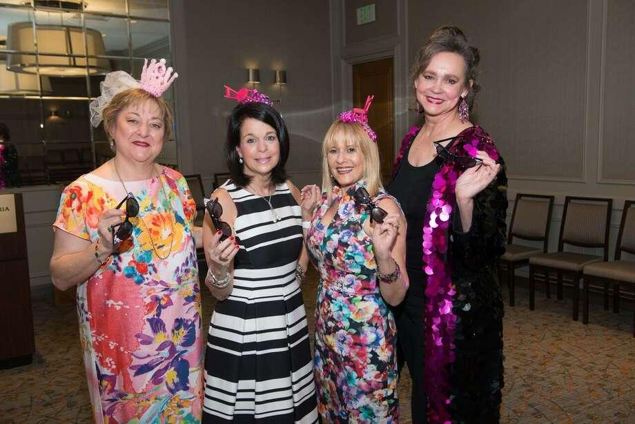 Linda F. Block, Randy Kaplan, GK's Sharon Brier and Jill Conner Browne enjoy the recent Women of Courage Awards in Sweet Potato style.