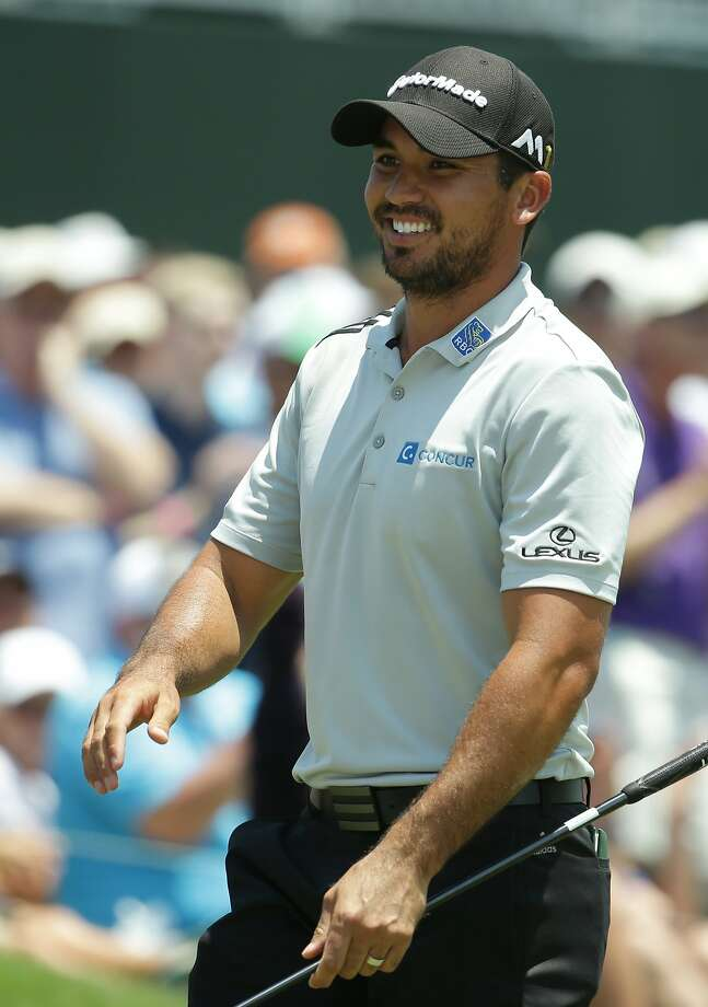 Jason Day smiles after finishing the first round of The Players Championship golf tournament Thursday, May 12, 2016, in Ponte Vedra Beach, Fla. (AP Photo/Lynne Sladky) Photo: Lynne Sladky, Associated Press