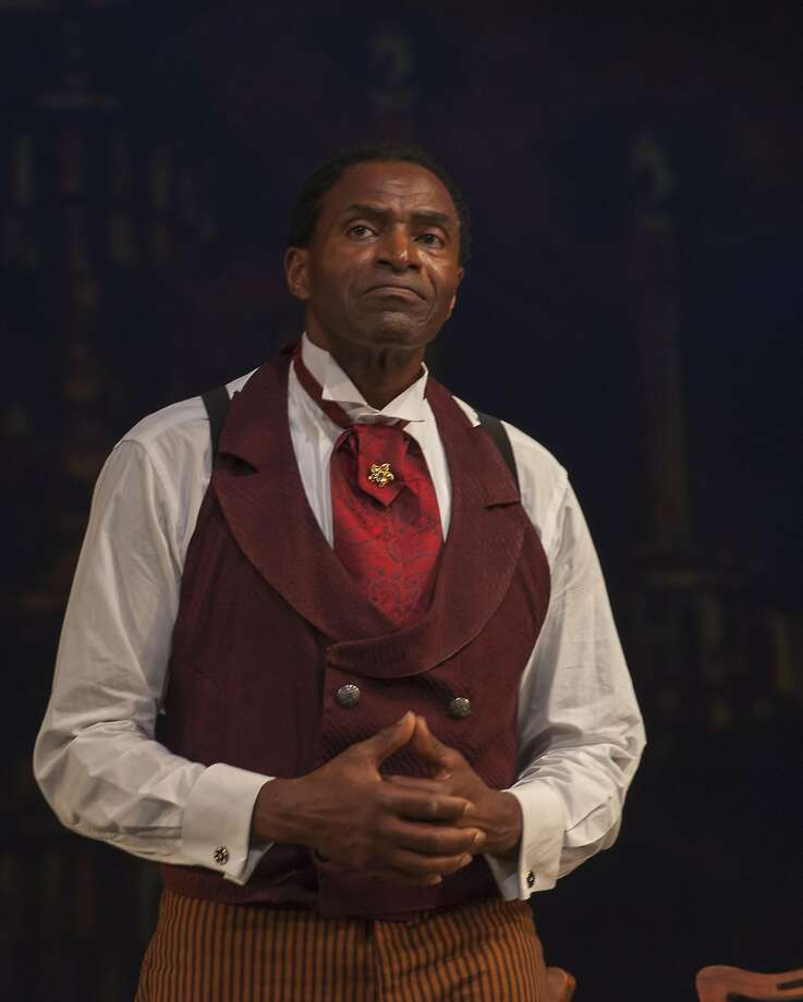 "Carl Lumbly stars in ""Red Velvet"" as Ira Aldridge, an actor who in 1833 became the first black man to play Othello on a British stage. Photo: Ken Levin"