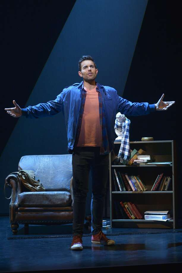 Jamie (Zak Resnick) recounts his past relationships in Jason Robert BrownÕs acclaimed musical, The Last Five Years, now playing through June 5 at American Conservatory TheaterÕs Geary Theater.  Photo by Kevin Berne Photo: Kevin Berne