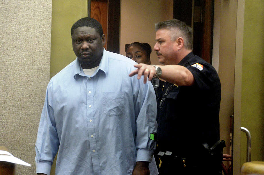 Melvin Spikes makes his way into the Judge Raquel West's courtroom for the initial phase of his trial Monday afternoon. Spikes is being tried on a capital murder charge in the death of Emerson Franklin. Photo taken Monday, May 9, 2016 Kim Brent/The Enterprise Photo: Kim Brent / Beaumont Enterprise