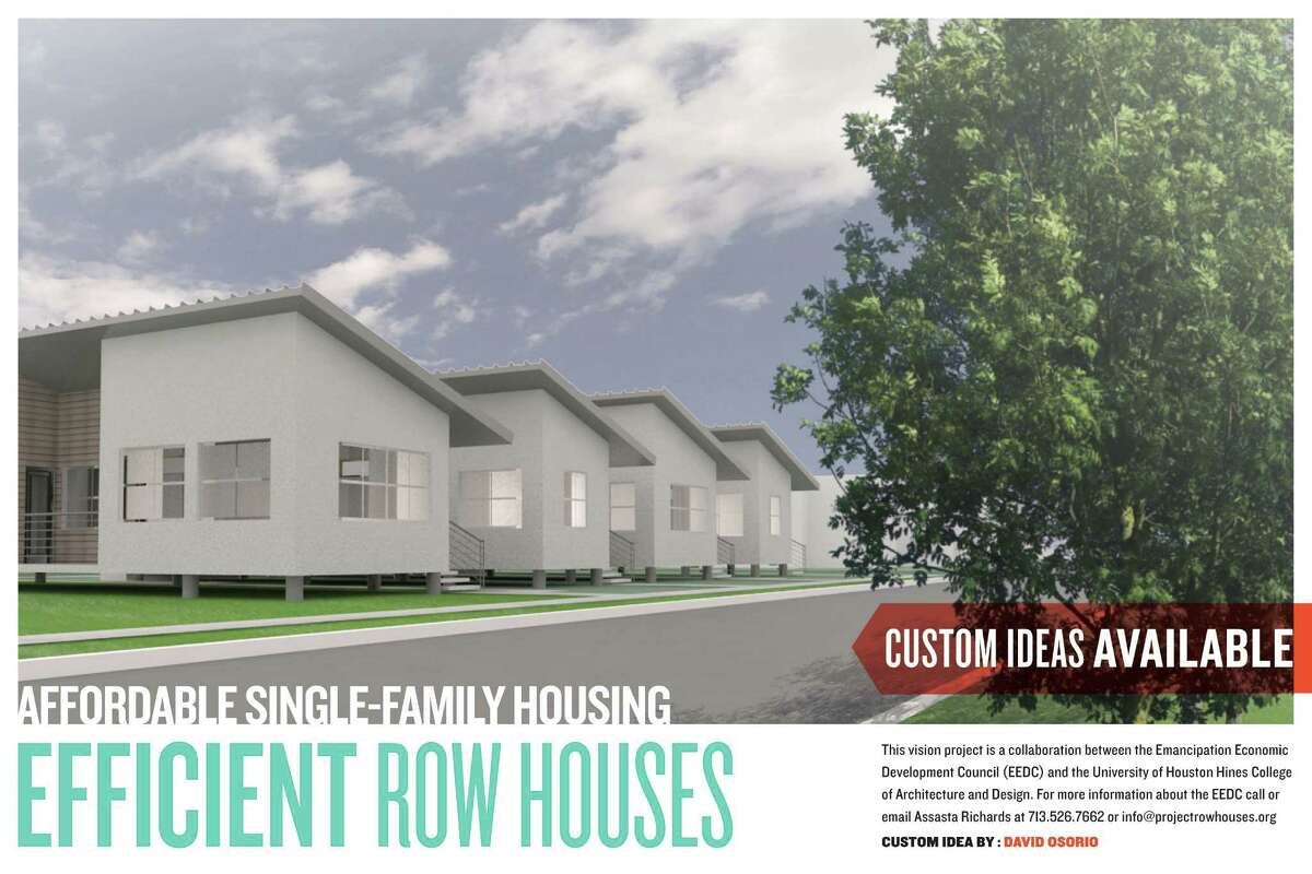 Student design for development in the Third Ward.