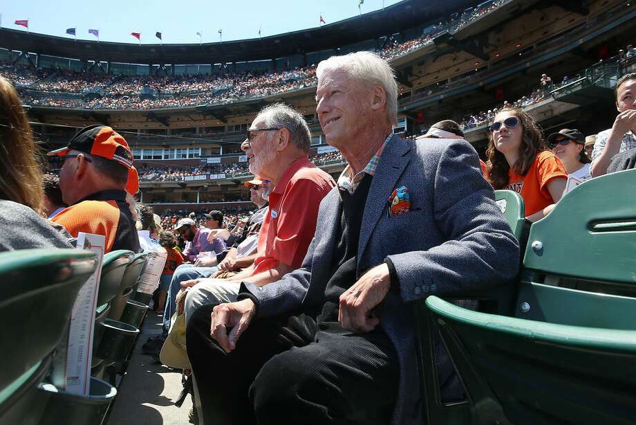 San Francisco Giant's former managing general partner Peter Magowan watches a game in San Francisco, California, on wednesday afternoon, may 11, 2016. Photo: Liz Hafalia / The Chronicle