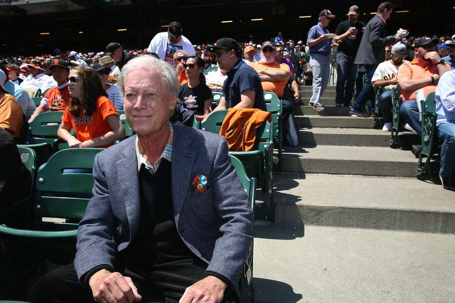 San Francisco Giant's former managing general partner Peter Magowan at AT&T park in San Francisco, California, on wednesday afternoon, may 11, 2016. Photo: Liz Hafalia, The Chronicle