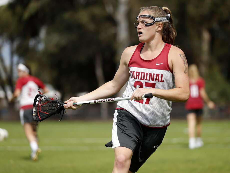 Anna Salemo started 17 of Stanford's 18 regular-season lacross games this year. Photo: Scott Strazzante, The Chronicle
