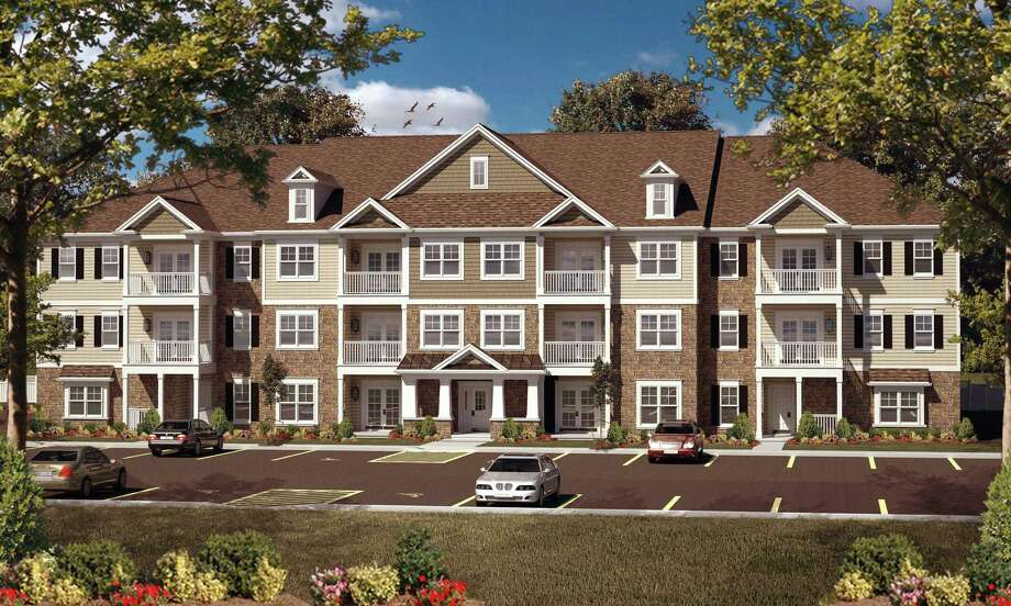 Rendering of the new Curry Road Apartments at the site of the former Curry Road Shopping Plaza in Rotterdam, N.Y. (Courtesy Richbell Capital)