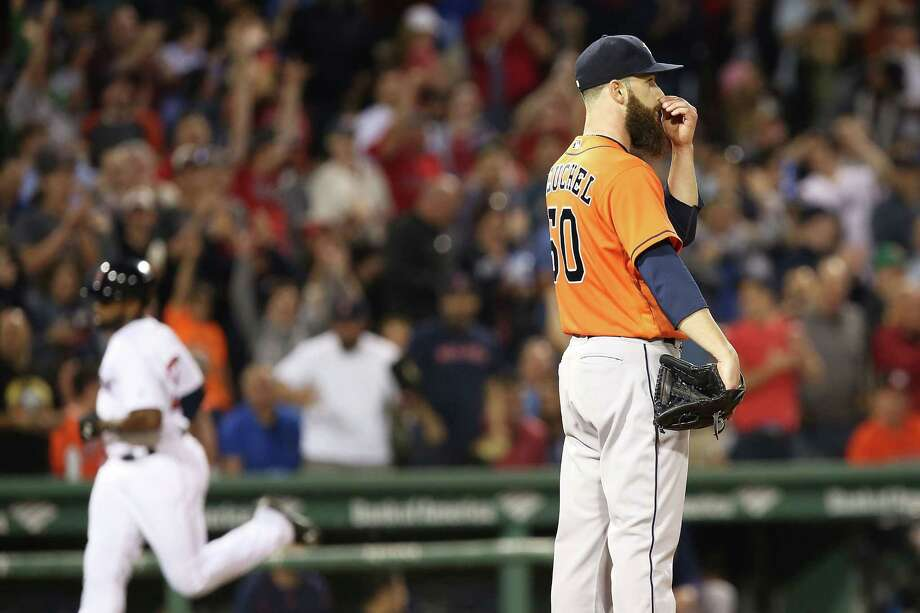 The eight runs is the second-most Keuchel has allowed in a game during his career. Photo: Adam Glanzman, Getty Images / 2016 Getty Images