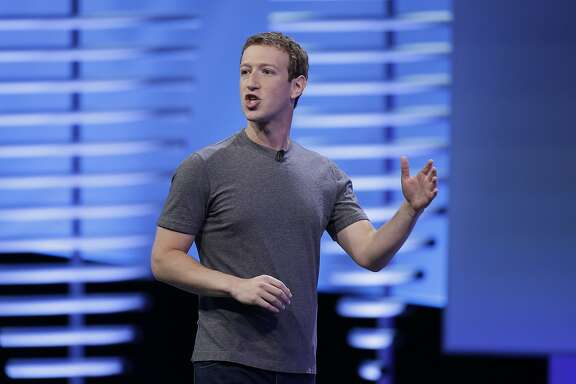 """FILE - In this Tuesday, April 12, 2016, file photo, Facebook CEO Mark Zuckerberg delivers the keynote address at the F8 Facebook Developer Conference in San Francisco. Facebook is under fire after a report from a Gawker site accused it of manipulating its """"trending topics"""" feature to promote or suppress certain political perspectives. Facebook has denied the claims, but the GOP-led U.S. Senate Commerce Committee has sent a letter to Zuckerberg requesting answers about the matter. (AP Photo/Eric Risberg, File)"""