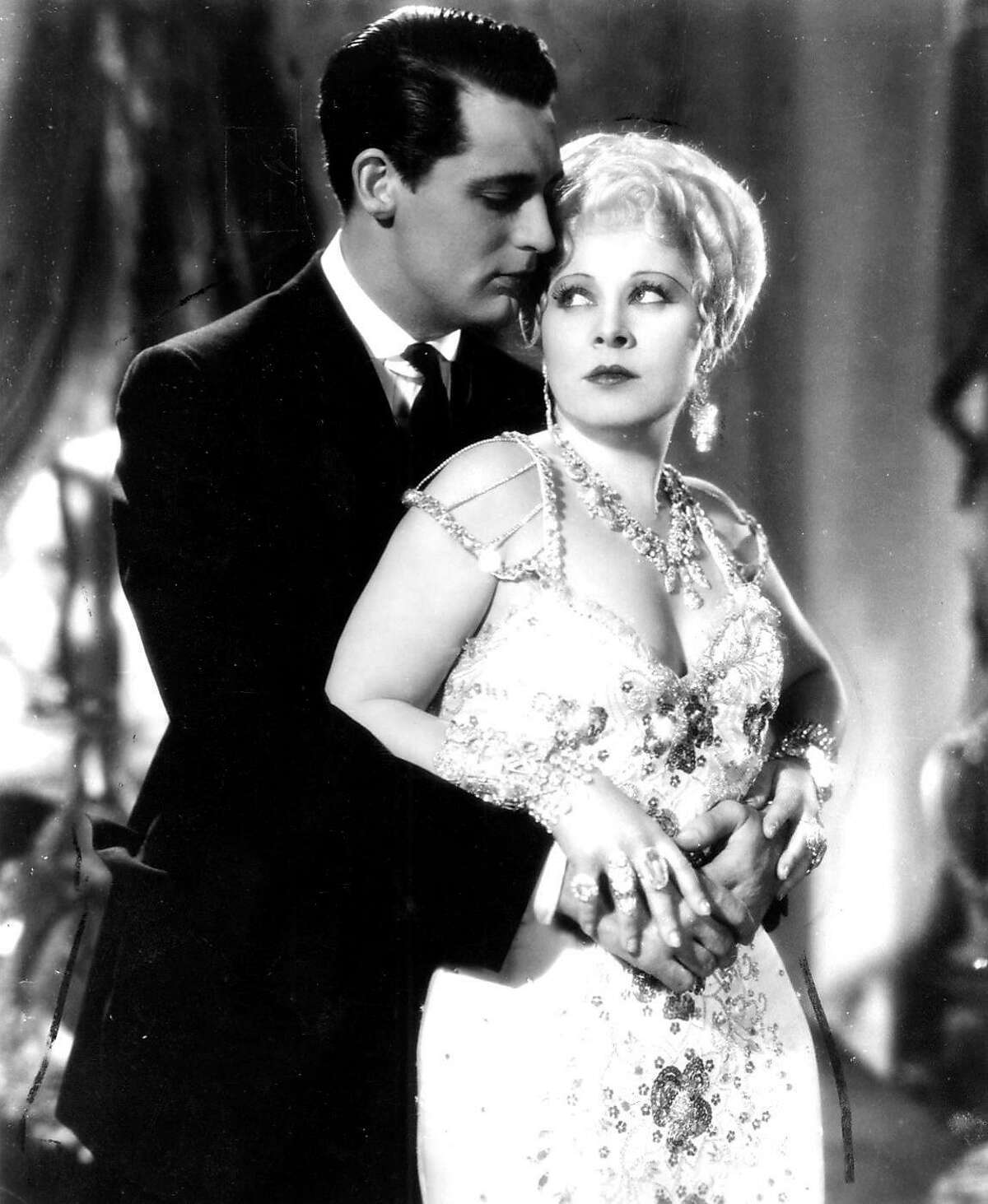 Cary Grant and Mae West in