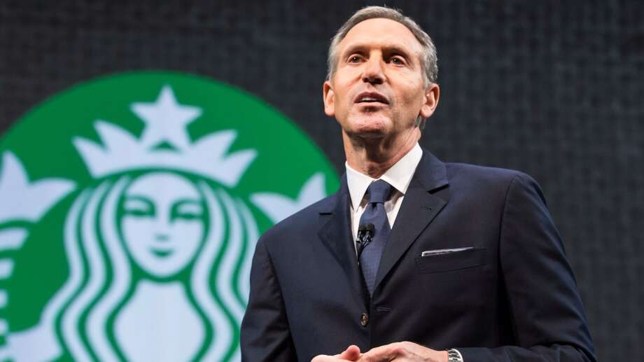 Starbucks chief executive Howard Schultz. Photo: Starbucks Chairman And CEO Howard Schultz.