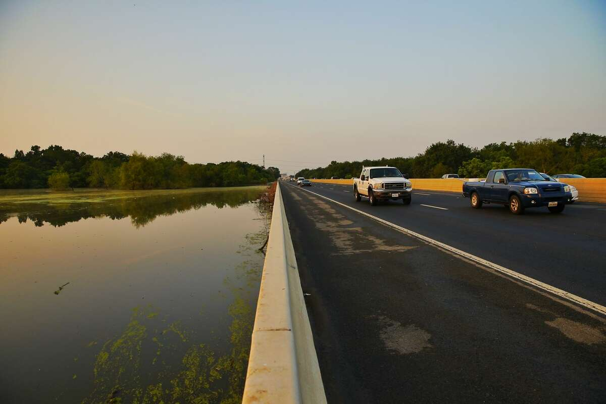 All lanes of Highway 6 reopened Friday, May 13, 2016 after the Tax Day Flood closed the road for more than three weeks.