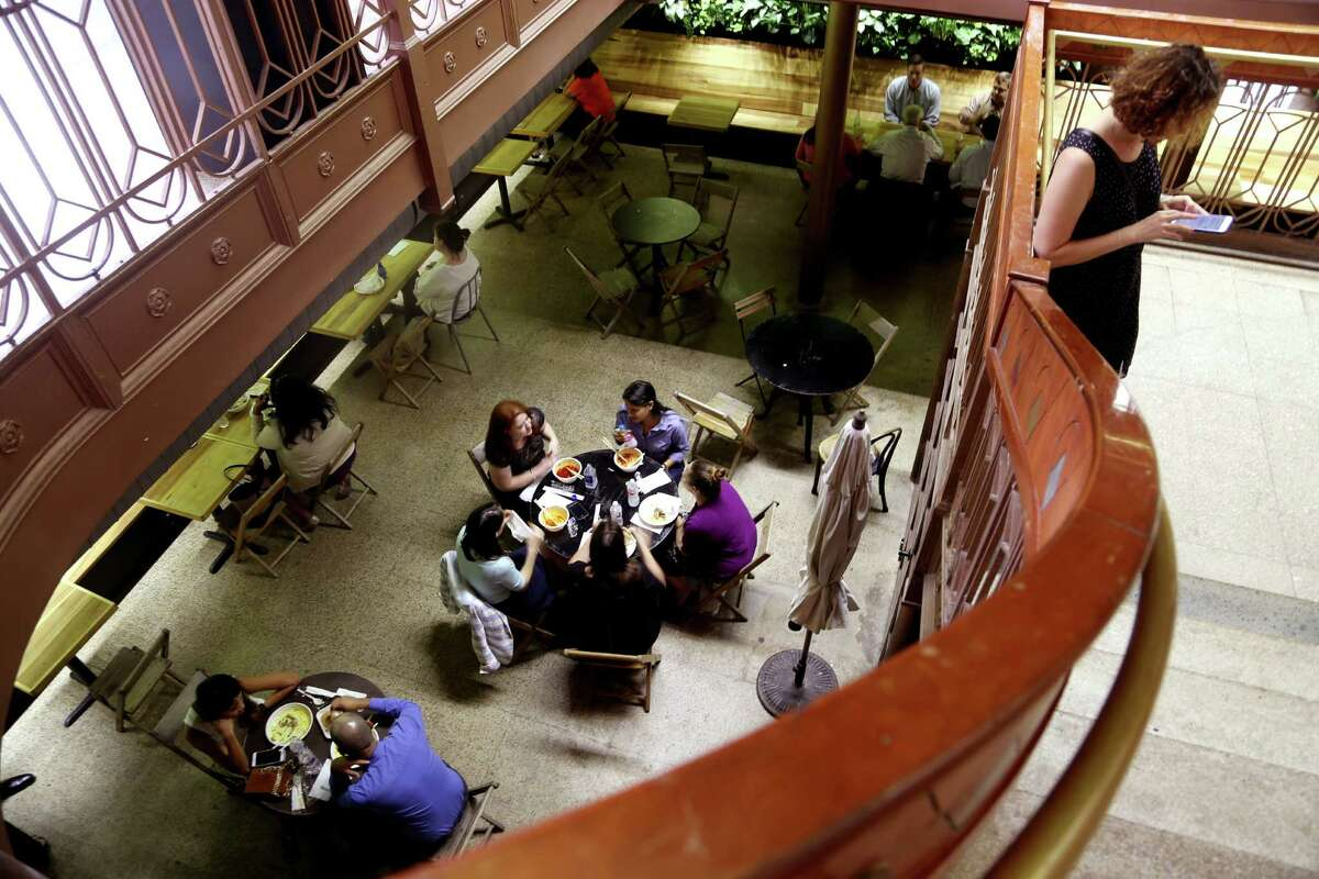 Conservatory is a basement space featuring a large beer garden serviced by food vendors Melange Creperie, El Burro & the Bull, Samurai Noodle and Myth Kafe.