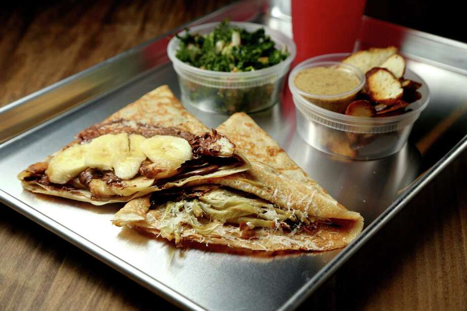Banana Nutella crepe