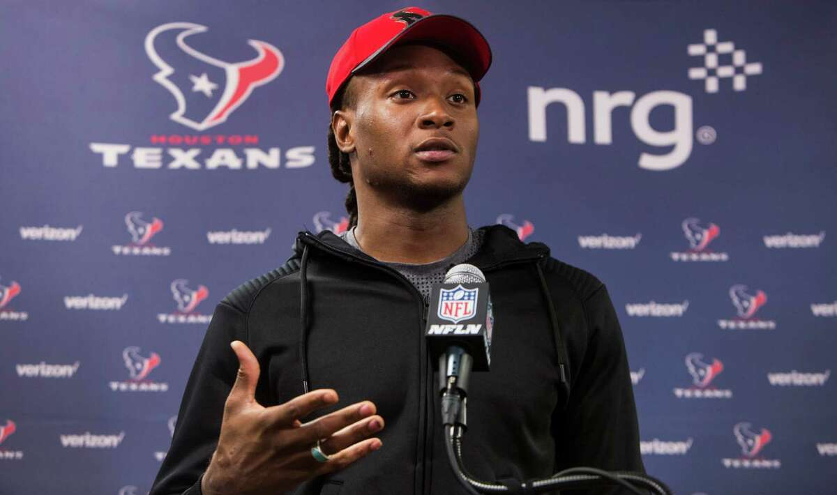 HONORABLE MENTION DeAndre Hopkins, Texans receiver Bill O'Brien can coach up Brock Osweiler all he wants, but the QB still needs a big league go-to target, somebodyhe can trust implicitly to make plays. Hopkins managed to catch 239 passes from the string of marginal types throwing to him the past three seasons withonly minimal support from his fellow wideouts. The upside of Osweiler to Hopkins could be huge.