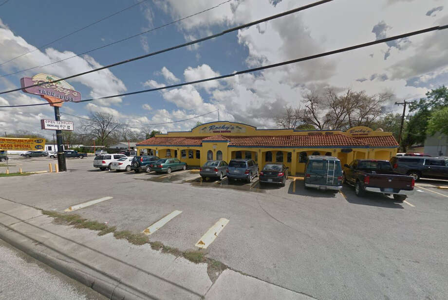 Rocky's Taco House #1: 1302 Cupples Road, San Antonio, TX 78226Date: 11/02/2017 Score: 58Highlights: Food not held at correct temperature (eggs, sausage); ware washing machine not properly sanitizing dishes; employee did not wash hands before putting gloves on; food handler certificates must be available on-site; prepared foods must be properly labeled with expiration date; food not protected from cross-contamination; consumer advisory consumption warning needed for customers; current/valid permit must be posted for customer view; paper towels needed at handwashing sink Photo: Google Street View/Maps