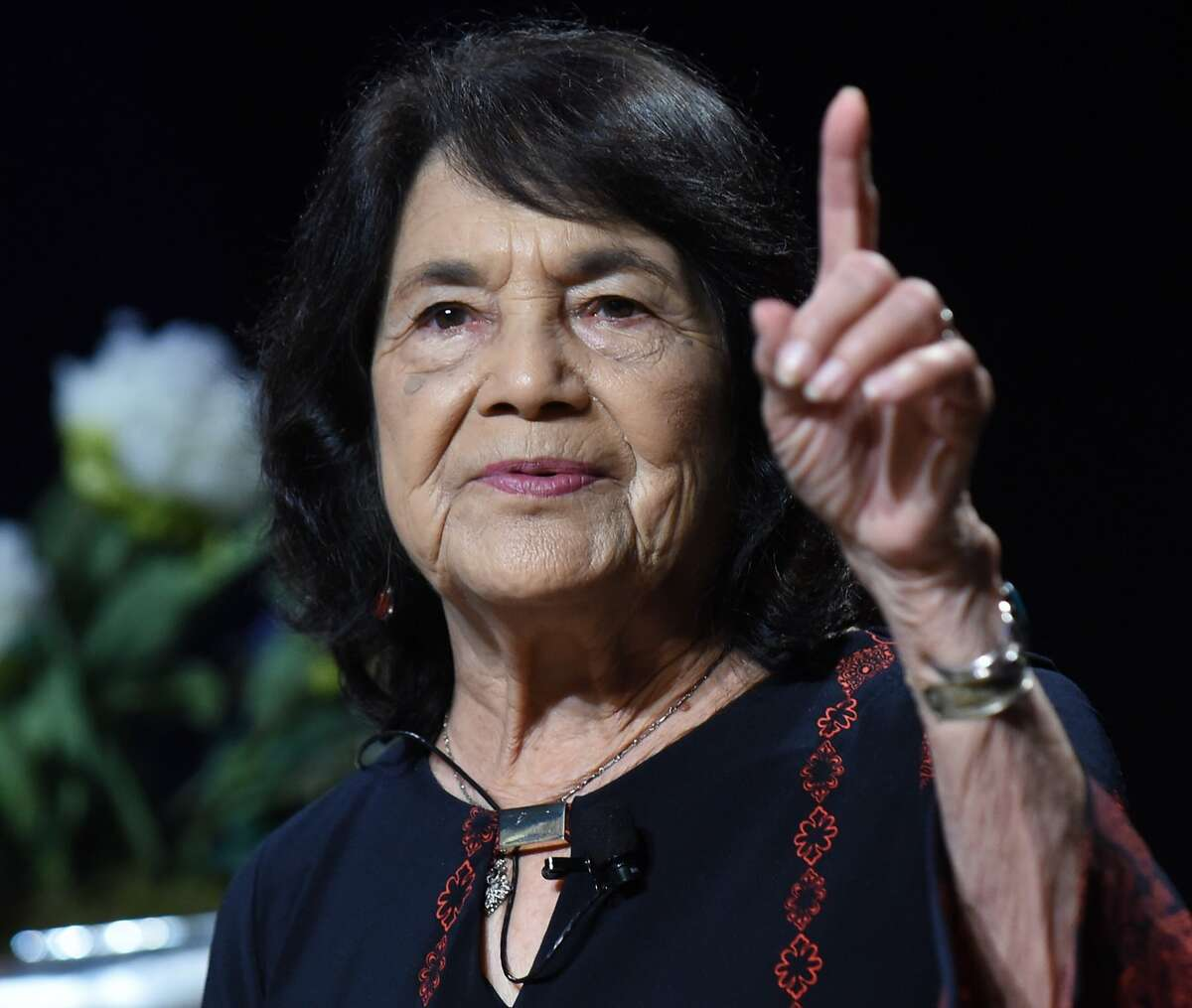 Activist Dolores Huerta speaks at Planned Parenthood�s 2016 Annual Luncheon on Friday, April 15, 2016.