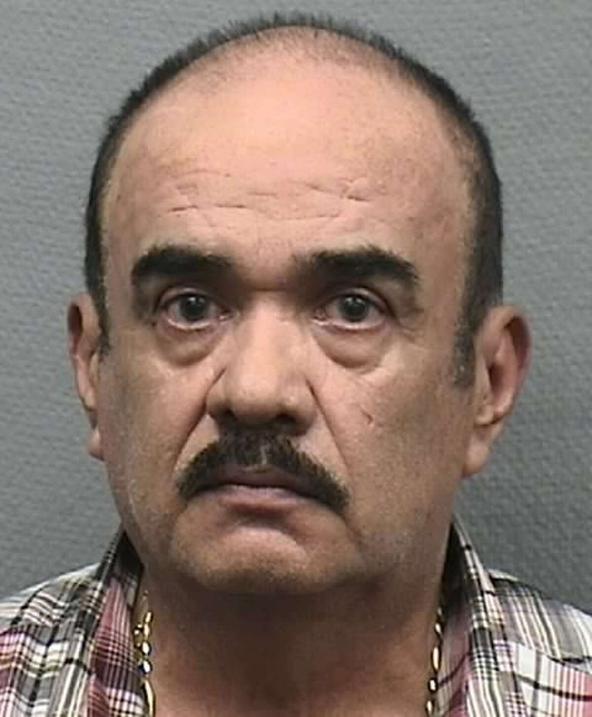 Moises Gaona, 65, was arrested by the Houston Police Department following a two month-long prostitution sting in southeast Houston.