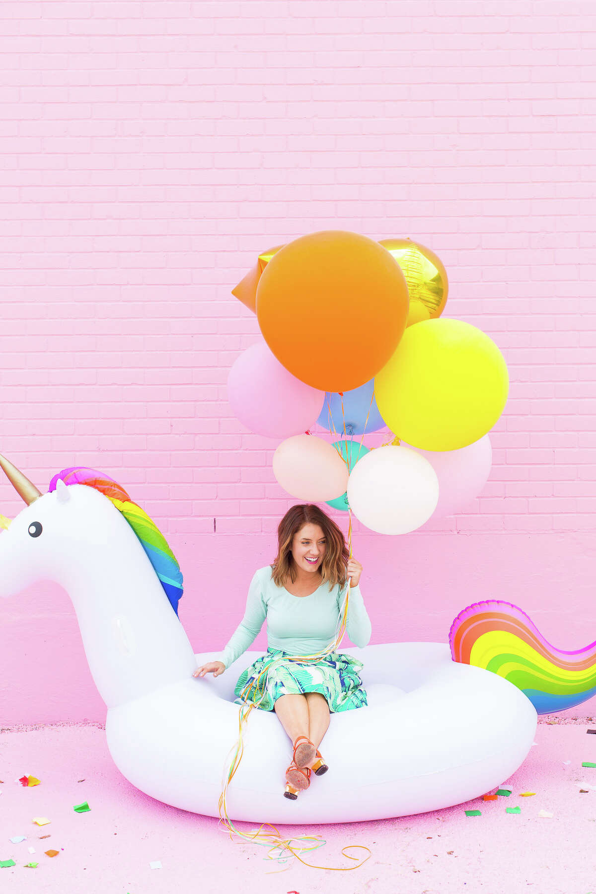 Ashley Rose, founder and creative director of Sugar &Cloth, a DIY blog with nearly 300,000 Instagram followers.