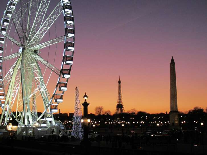 Chronicle reader C. Fischer of Houston submitted this vacation photo taken in Paris, France.