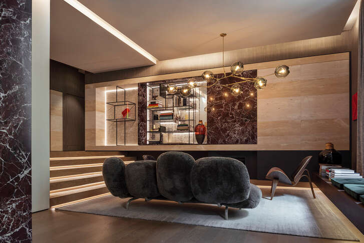 The seven-room Fendi Private Suites takes up an entire floor of the Palazzo Fendi, the fashion house's new flagship hotel in Rome.
